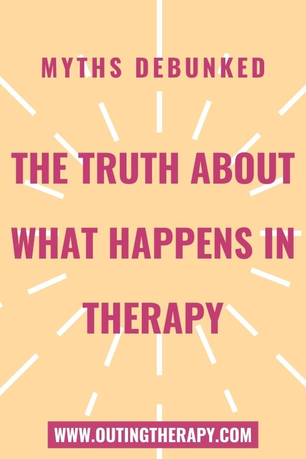 Image with title of post 'The truth about what happens in therapy'