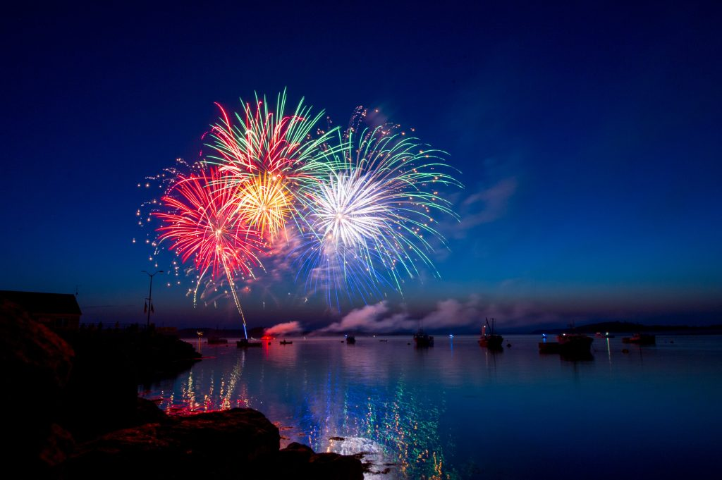 Fireworks to celebrate improving your life with a Counselling Psychologist/Psychotherapist