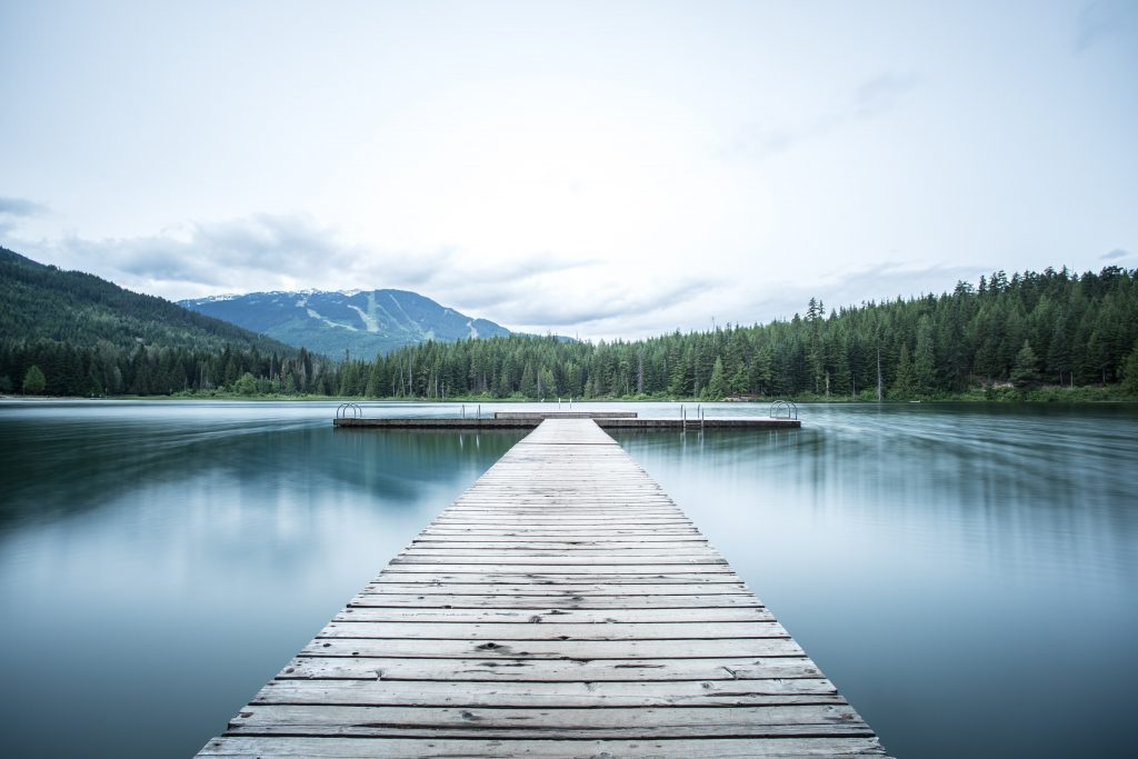 A view of a lake to show what it takes to be successful