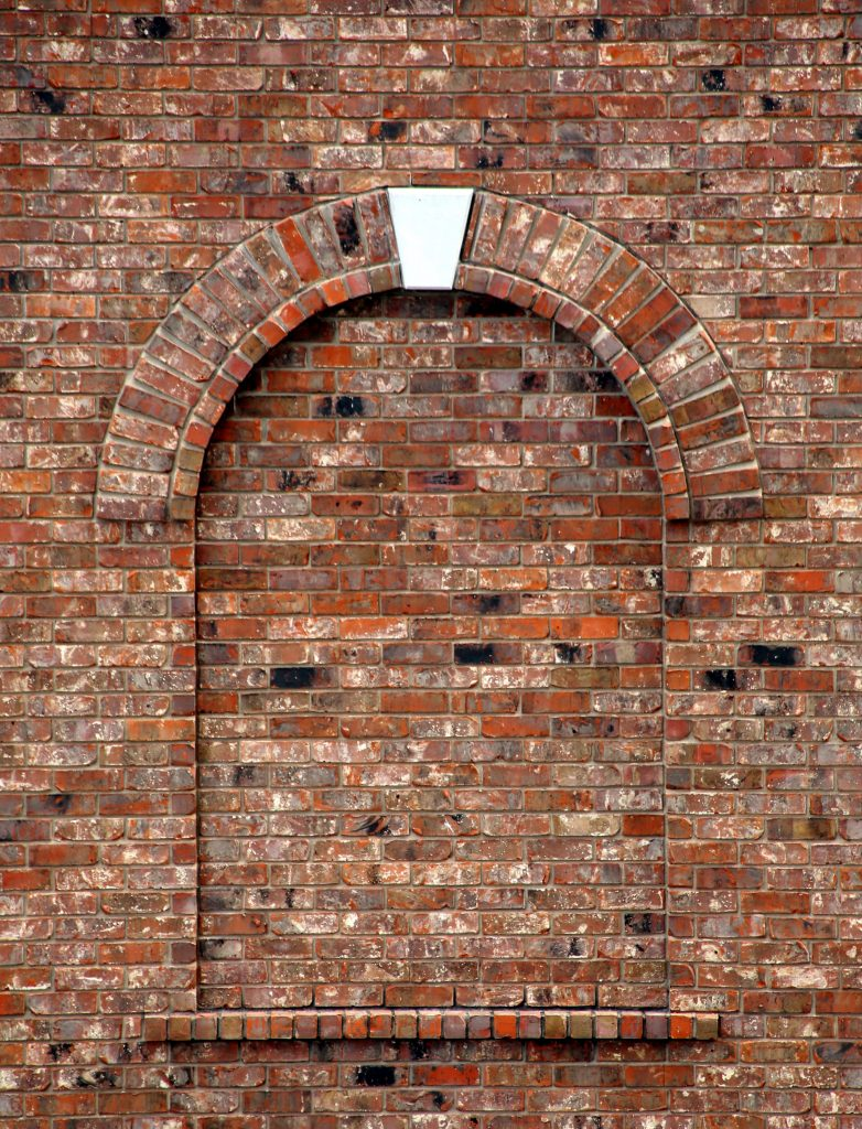 A brick wall to show what happens when you run away from your problems