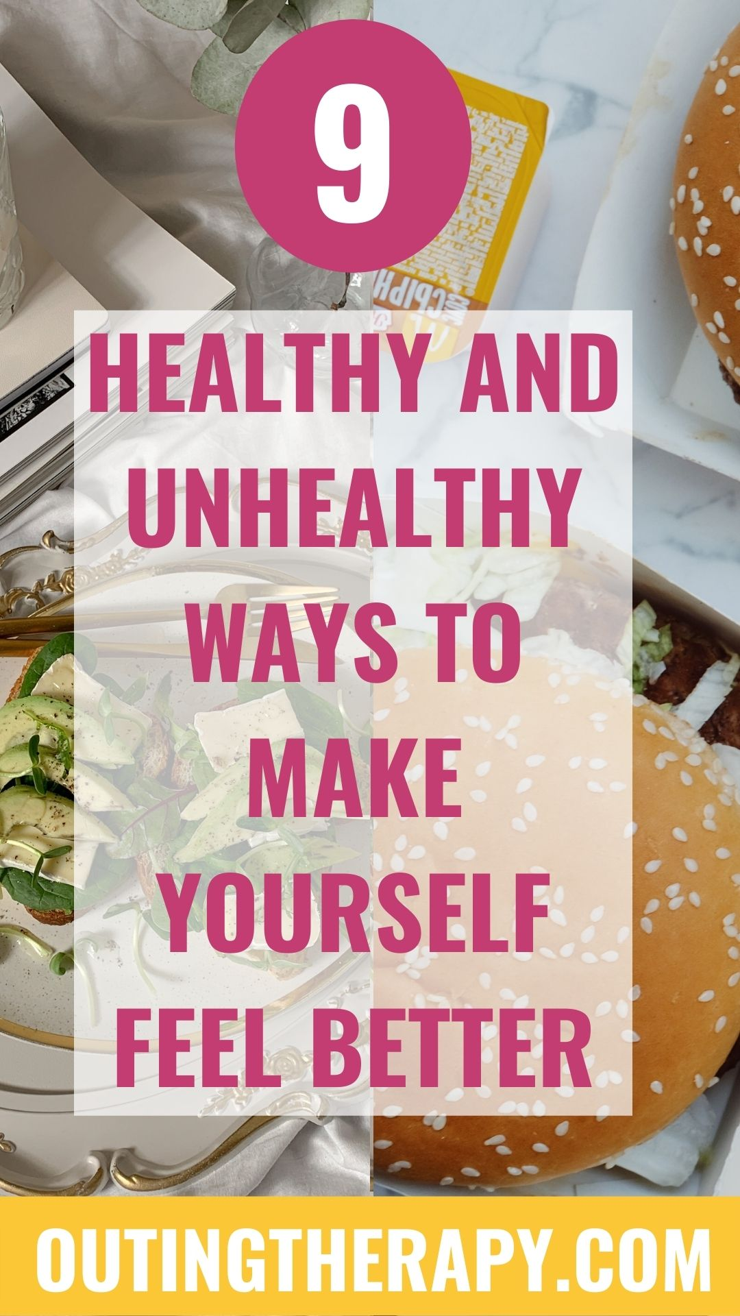 9 HEALTHY AND UNHEALTHY WAYS TO MAKE YOURSELF FEEL BETTER